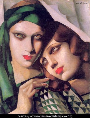 Тамара де Лемпицка – художница и икона Арт Деко. Изображение №4.