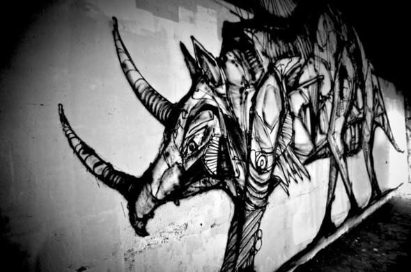 Стрит-арт от Iemza. Изображение № 4.