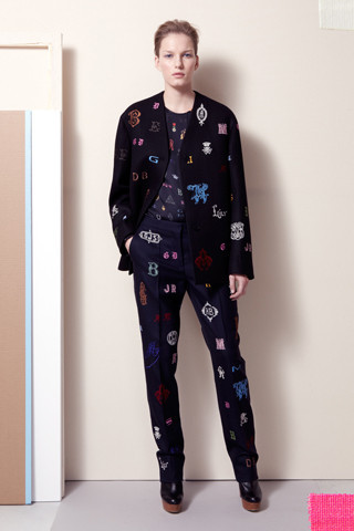 Stella McCartney Pre-Fall 2012. Изображение № 1.