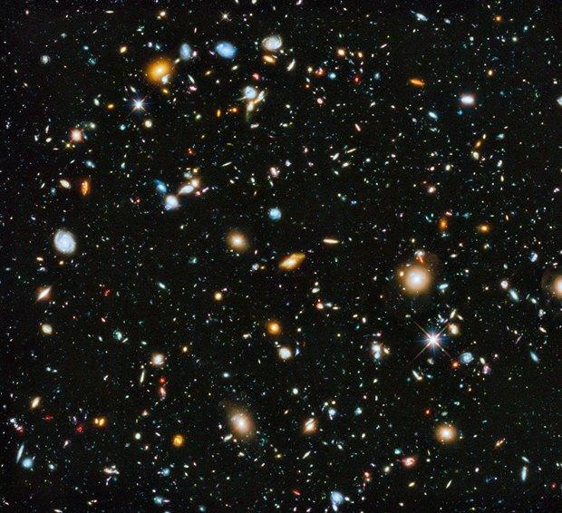 NASA опубликовало «самое красочное» изображение Вселенной. Изображение № 1.