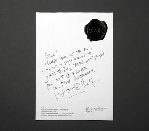 Изображение 3. Men's S/S 2011 fashion show invitations.. Изображение № 3.