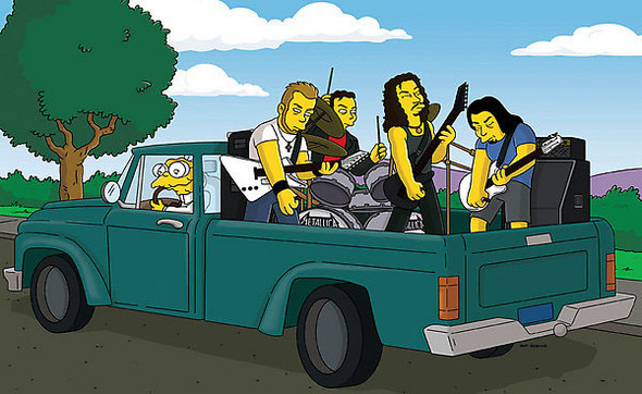 Bands to watch in Simpsons. Изображение № 28.