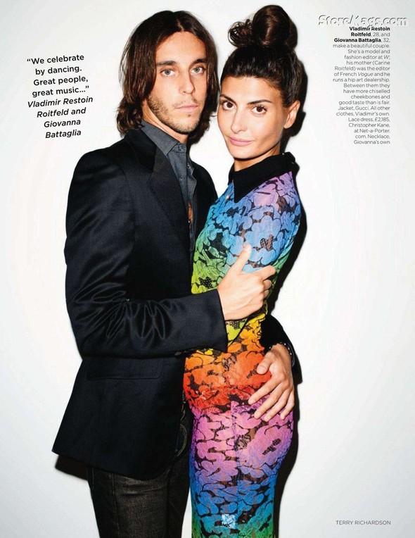 Съёмка: Терри Ричардсон для британского Vogue. Изображение № 5.