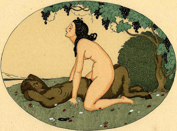 Gerda Wegener, лесбийская эротика в миниатюре. Изображение № 11.