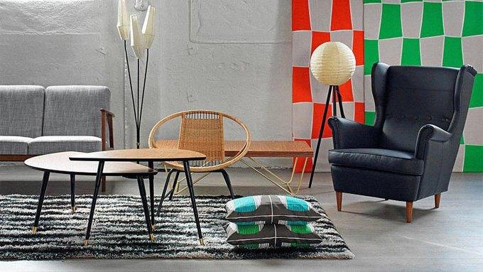 IKEA перевыпустит мебель из каталога середины XX века. Изображение № 1.