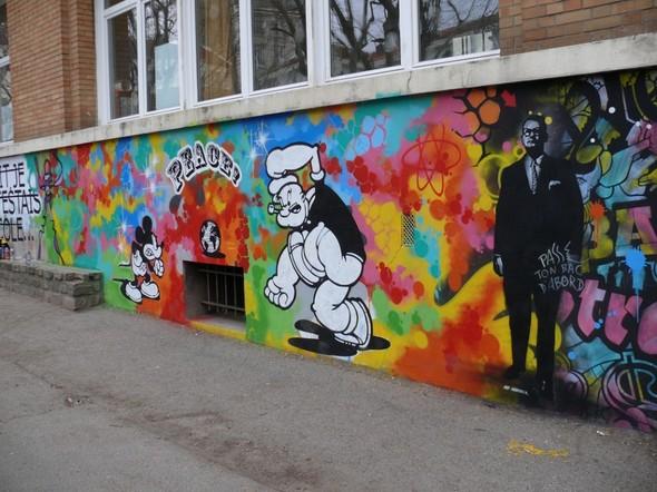 Граффити от легенды стрит-арта Jef Aerosol. Изображение № 11.