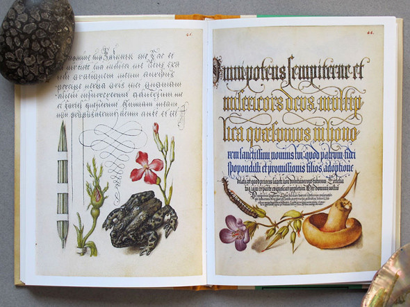Развороты из книги «Mira Calligraphiae Monumenta: The Art of the Pen». Изображение № 9.