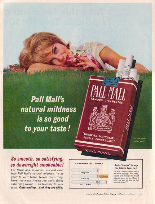Винтажная реклама табака. Изображение № 4.