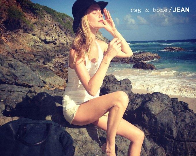 Камила Роу сняла Поппи Делевинь для Rag & Bone. Изображение № 11.