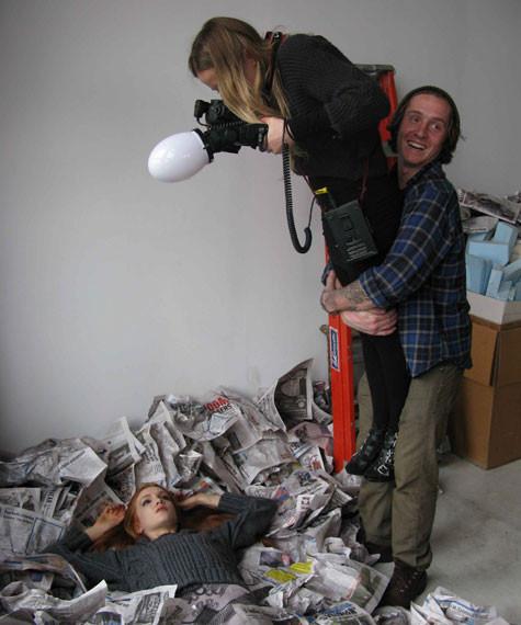 DIESEL показал снимки backstage со съемок Be Stupid. Изображение № 2.
