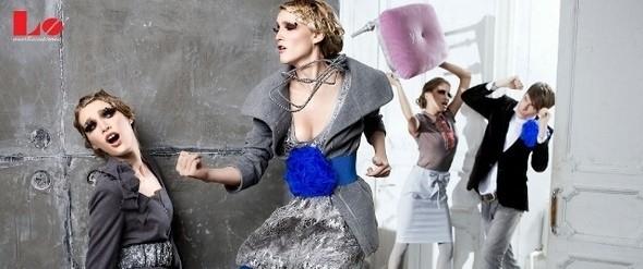 Изображение 4. Платья марки LO - головокружительная невесомость и французский шарм.. Изображение № 3.
