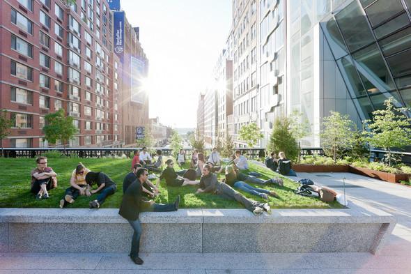 The High Line: история о том, как железная дорога обрела друзей. Изображение № 11.