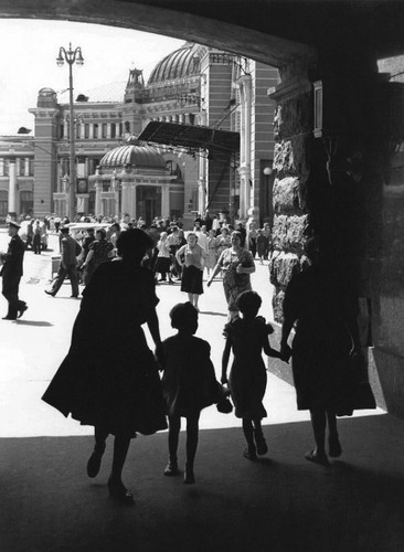 Белорусский вокзал, 1959 г.. Изображение № 161.