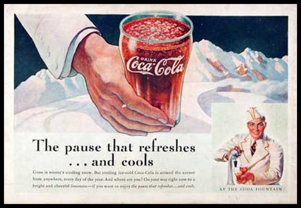 Изображение 16. Coca-cola – История бренда, история рекламы.. Изображение № 16.