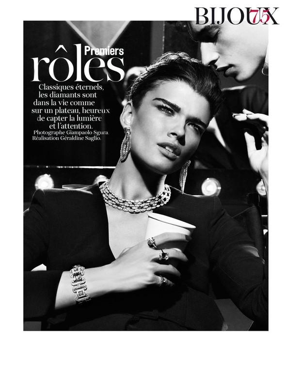 Съёмки: Elle, Vogue и другие. Изображение № 39.