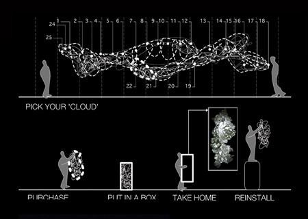 "Люстра ""Cloud Walk"" отYu JordyFu. Изображение № 6."