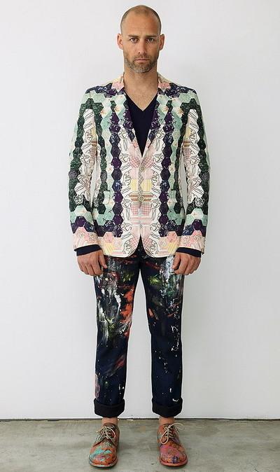 Мужская коллекция Alexander McQueen весна-лето 2010. Изображение № 7.