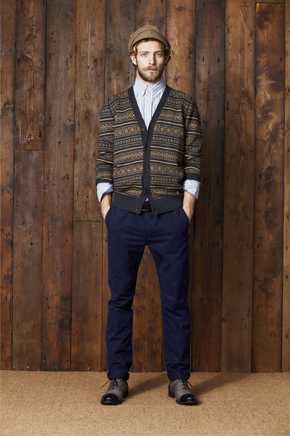 Ben Sherman Lookbook AW11. Изображение № 13.