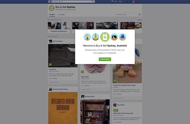 Появились скриншоты магазина внутри Facebook. Изображение № 1.
