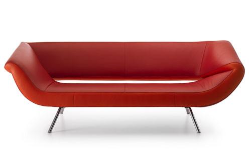 Ассиметричный диван Arabella от Leolux. Изображение № 1.