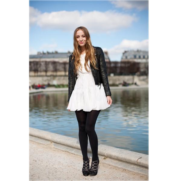 Луки с Недели моды в Париже. Изображение № 8.