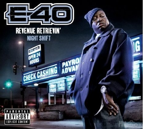 Изображение 4. E-40 - Revenue Retrievin' Overtime ShiftGraveyard Shift.. Изображение № 4.