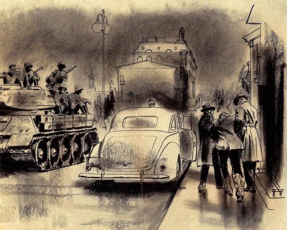 Американские иллюстраторы 40–60гг. ЧАСТЬ 1. Изображение № 57.