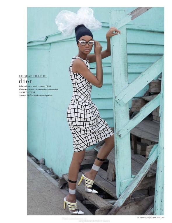Съёмка: Шанель Иман для L'Officiel. Изображение № 3.