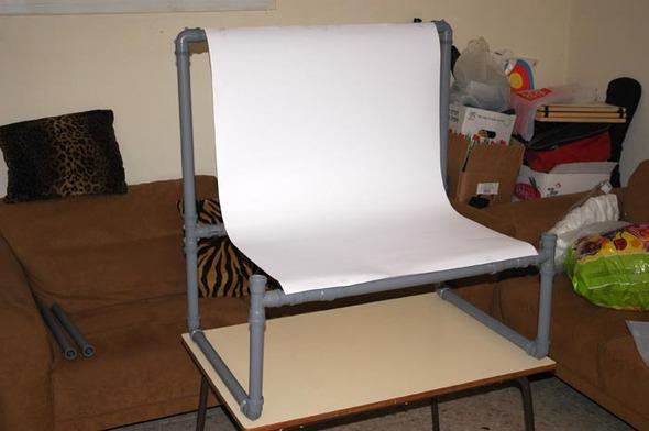 Каксамому сделать дешевый фото-стол. Изображение № 3.