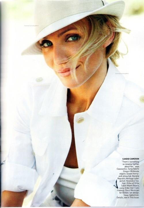 Cameron Diaz, Vogue USJune 2009. Изображение № 10.