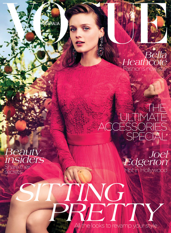 Обложки: Harper's Bazaar, Numero, Vogue и другие. Изображение № 1.