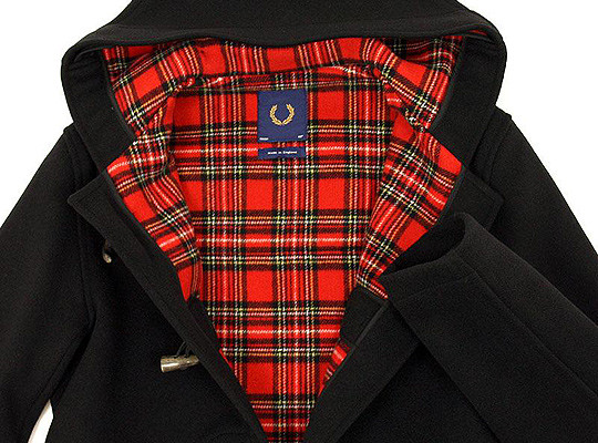 Fred Perry Laurel X Gloverall Duffle Coat AW 10. Изображение № 1.