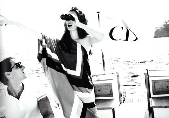 Кампания: Моника Ягачак и Эллен фон Унверт для Dior Cruise 2012. Изображение № 14.