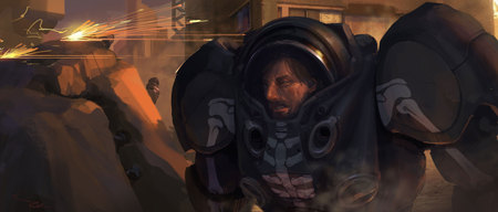 Best ARTWORKS of StarCraft II. Изображение № 16.