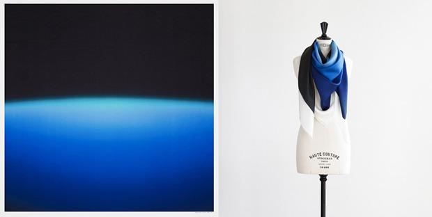 Hermes выпустили платки с полароидными фото. Изображение № 5.