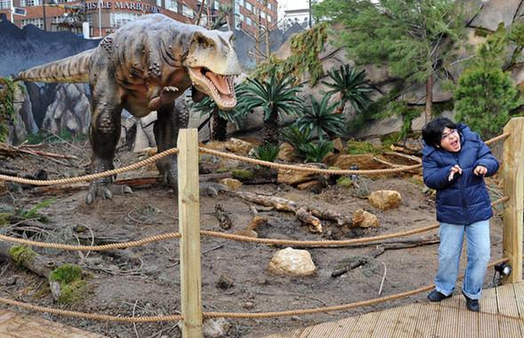 """""""Dinosaurs unleashed"""" или динозавры в Лондоне. Изображение № 17."""