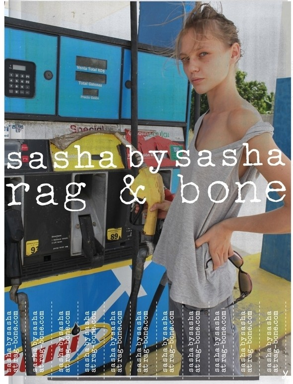 Изображение 6. Саша Пивоварова, Эбби Ли Кершо, Эдита Вилкевичюте и Лили Олдридж сняли себя для Rag & Bone.. Изображение № 2.