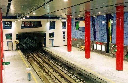 Лиссабон. Метро. Изображение № 7.