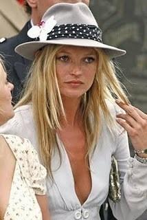 Звезды - фанаты шляп. Кейт Мосс. Изображение № 8.