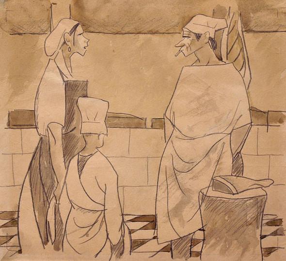 Леонид Сойфертис. рисунок, карикатура. Изображение № 24.