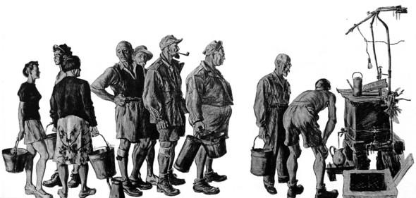Американские иллюстраторы 40–60гг. ЧАСТЬ 1. Изображение № 39.