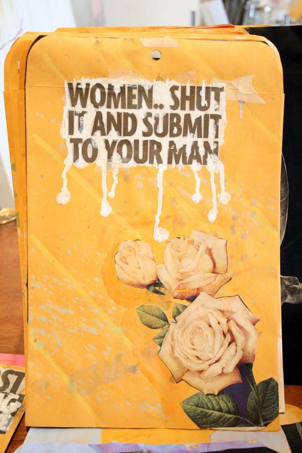 Изображение 19. Рисунки на конвертах Sage Vaughn.. Изображение № 19.