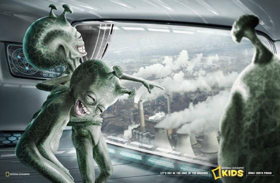 Инопланетяне смеются над землянами. Изображение № 1.