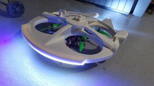 Энтузиаст построил дрон в виде «Тысячелетнего сокола». Изображение № 24.
