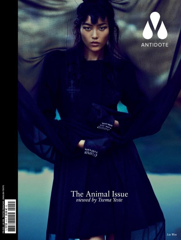 Вышли новые обложки Vogue, Numero, Interview и других журналов. Изображение № 9.