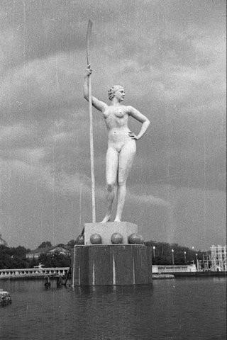 Вторая скульптура И.Шадра, погибшая в бомбежке 1941 года. Изображение № 5.