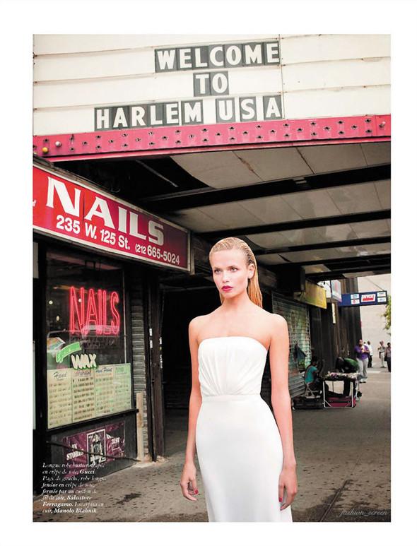 Съёмка: Наташа Поли и Терри Ричардсон для французского Vogue. Изображение № 3.
