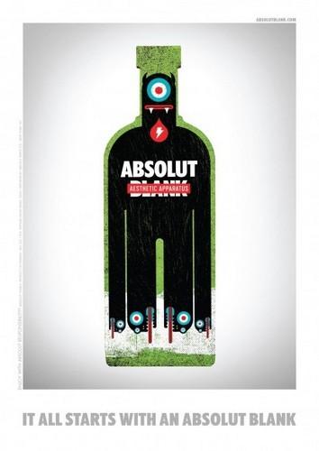 Новая креативная реклама Absolut. Изображение № 1.