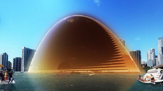 В Майами хотят построить отель в виде Солнца. Изображение № 5.