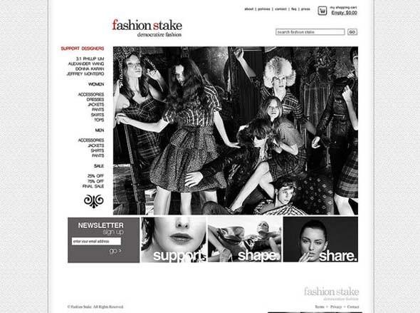 Демократизация моды: Fashion Stake. Изображение № 4.